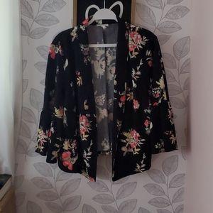Maurices Floral Blazer Size 2